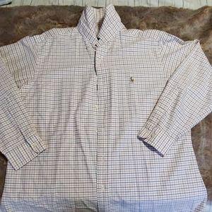Ralph Lauren  casual button down mens shirt